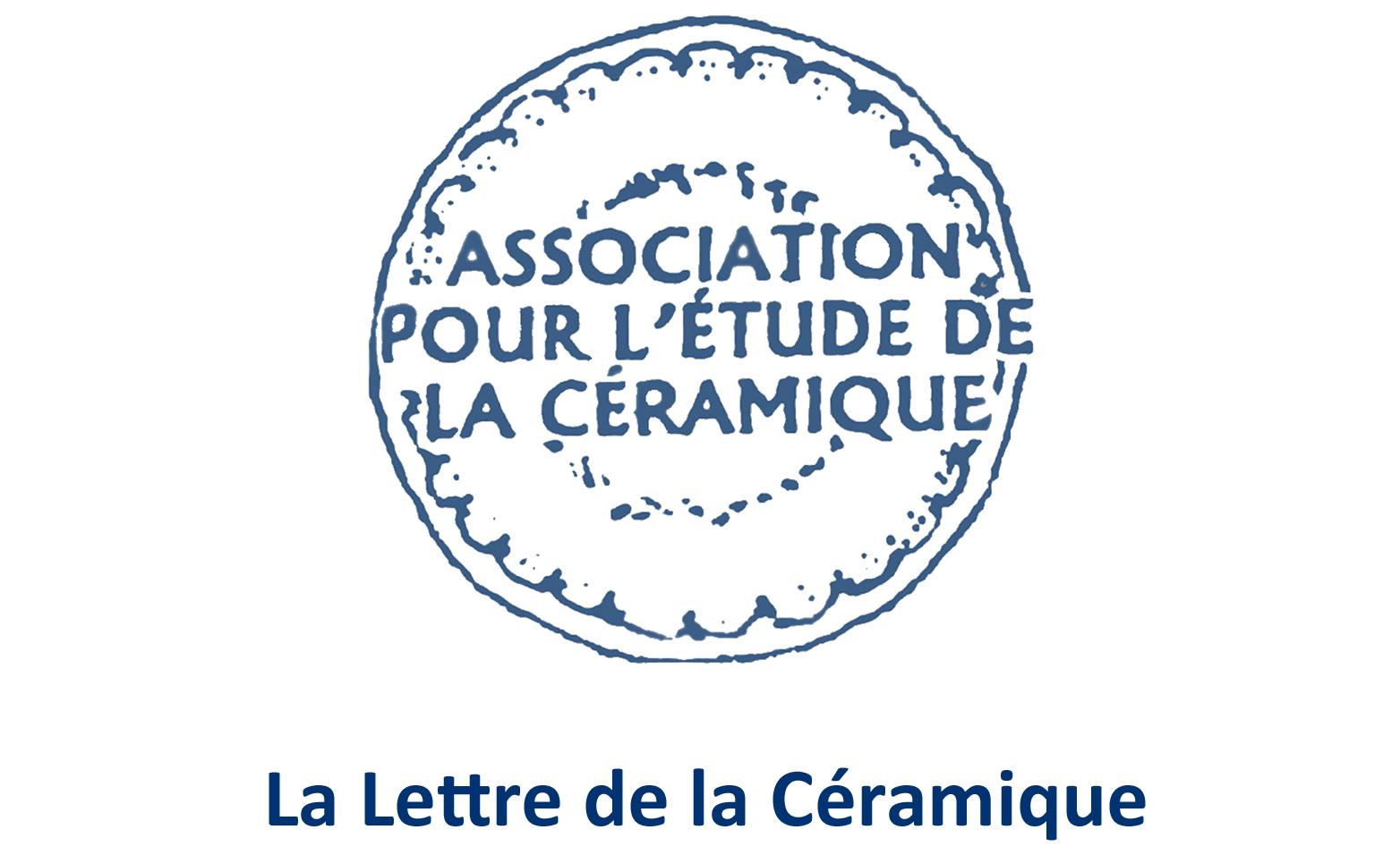 """Lettre de la Céramique, 2020, n°50<br><p style=""""color:red;"""">Accès réservé membres</p>"""
