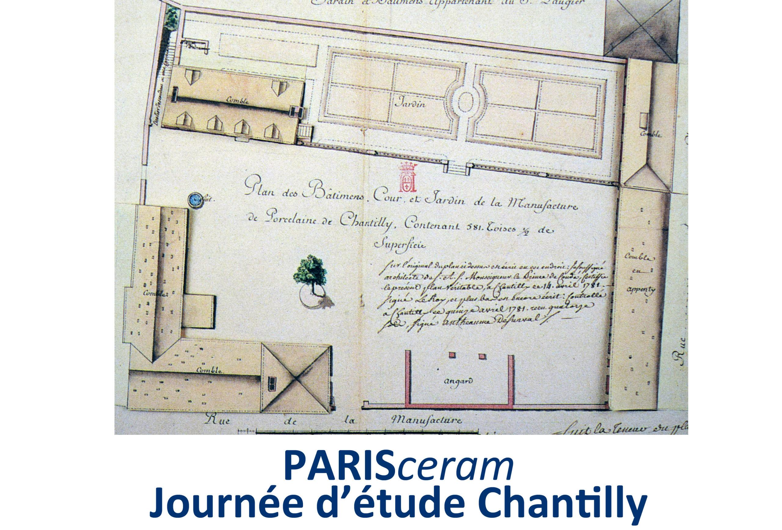 Journée d'études Chantilly, sera replanifiée dès que les conditions sanitaires le permettront